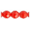 Fire Polished 10mm Light Red Moonshine